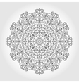 Mandala swirls backgroundTribalethnic pattern vector image vector image
