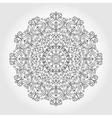 mandala swirls pattern vector image vector image