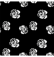 Rose seamless pattern Vintage background with vector image vector image