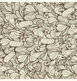 seamless funky pattern vector image