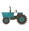 Vehicle tractor farm vector image vector image