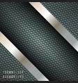 abstract background with metallic diagonal stripes vector image