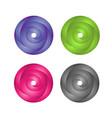circle color vector image