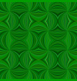 green hypnotic abstract seamless striped vortex vector image vector image