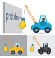 Lamp Crane Idea vector image