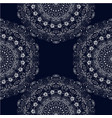seamless texture white carved lace vector image vector image