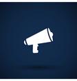 speaker icon broadcasting speak isolated scream vector image vector image