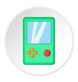 Tetris icon cartoon style vector image vector image