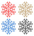 75 off discount sticker snowflake 75 off sale vector image vector image