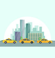background of modern urban vector image vector image