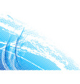 blue light background with curves vector image vector image