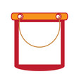 cleaning bucket icon vector image