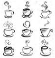 Doodle Coffee Cup vector image vector image