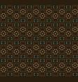 ethnic ornamen seamless vector image vector image