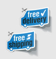 Free delivery free shipping vector | Price: 1 Credit (USD $1)