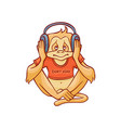 monkey dont hear because vector image vector image