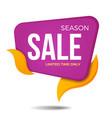 Season sale label price tag banner sticker badge