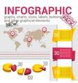 infografic set vector image