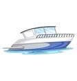 a boat vector image vector image
