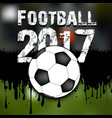abstract background football 2017 vector image