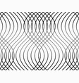 abstract geometric pattern with waves vector image vector image