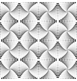 Design seamless monochrome dotted pattern vector image vector image