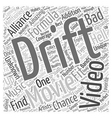 Formula Drift Alliances Bad As Hell Video Word vector image vector image