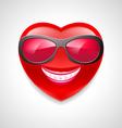 Heart character vector image vector image