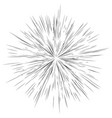 radial lines star burst sunburst background fash vector image