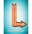 Retro vintage sign vector image