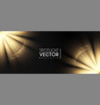 spotlights transparent light effect show design vector image vector image