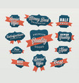 advertising tags vector image