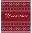 Colorful striped pattern on burgundy background vector image vector image
