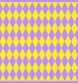cute retro seamless pattern colorful geometric vector image vector image