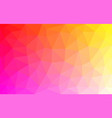 light multicolored low poly background abstract vector image