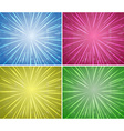 Background design in four colors vector image