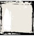 Abstract grunge frame Black and beige Background vector image vector image