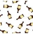 bottle of grass liquor vector image vector image
