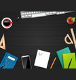 business office and workspace vector image vector image