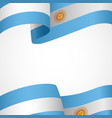 decoration of argentina vector image vector image