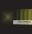 Diamond pattern set citrus sparkles seamless