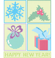 embroidery vector image vector image