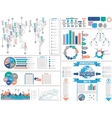 INFOGRAPHICS-DEMOGRAPHY vector image vector image
