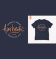 letter graphic mens t-shirt design print vector image