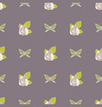 repeat seamless pattern with butterflies vector image