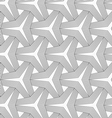 Slim gray partly striped tetrapods vector image vector image
