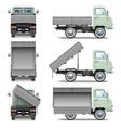 Tipper Truck vector image vector image