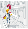 Urban fashion vector image vector image