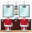 barber shop vintage vector image