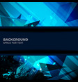 background blue texture space vector image vector image